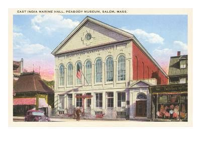 East India Marine Hall, Peabody Museum, Salem, Mass.--Art Print