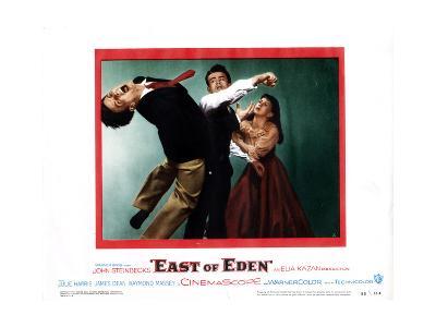 East of Eden, Richard Davalos, James Dean, Julie Harris, 1955--Giclee Print