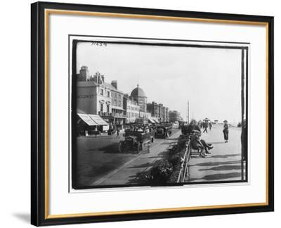 East Parade, Worthing, England--Framed Photographic Print