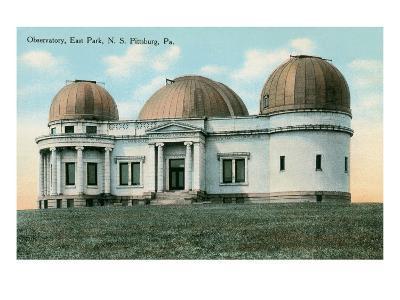 East Park Observatory, Pittsburg, Pennsylvania--Art Print