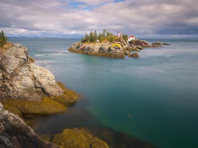 East Quoddy (Head Harbour) Lighthouse, Campobello Island, New Brunswick, Canada, North America-Alan Copson-Photographic Print