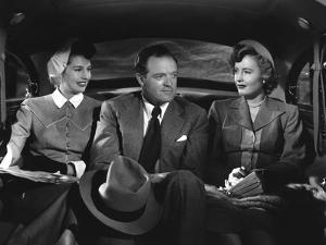 EAST SIDE, WEST SIDE, 1949 DIRECTED BE MERVYN LeROY Cyd Charisse, Van Heflin and Barbara Stanwyck (