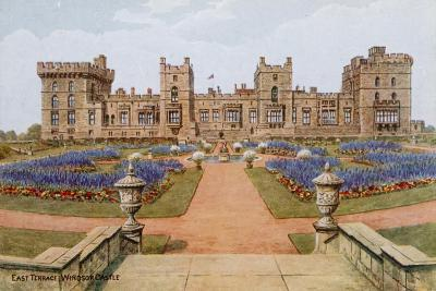 East Terrace, Windsor Castle-Alfred Robert Quinton-Giclee Print