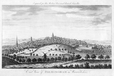 East View of Birmingham in Warwickshire, 1779--Giclee Print