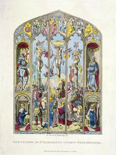 East Window in St Margaret, Westminster, Depicting the Crucifixion, London, 1795--Giclee Print