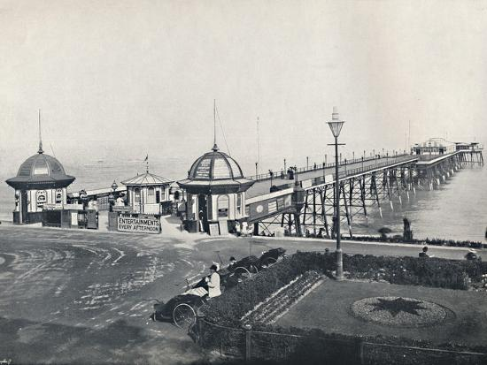 'Eastbourne - The Pier', 1895-Unknown-Photographic Print