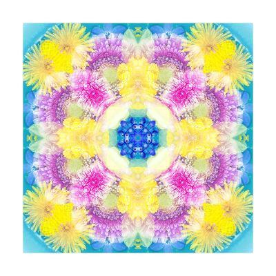 Easter Blossom Mandala XIII-Alaya Gadeh-Art Print