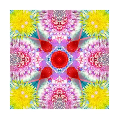 Easter Blossom Mandala XX-Alaya Gadeh-Art Print