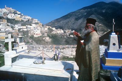 Easter Celebration, Olymbos, Karpathos, Greece--Photographic Print