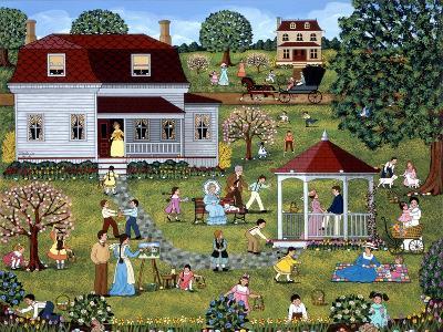 Easter Egg Hunt-Sheila Lee-Giclee Print