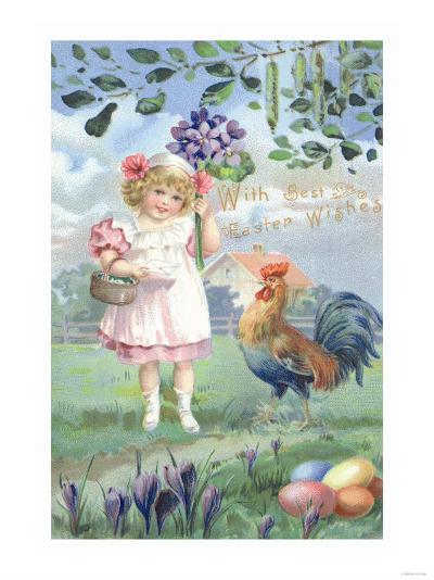 Easter Flowers--Art Print