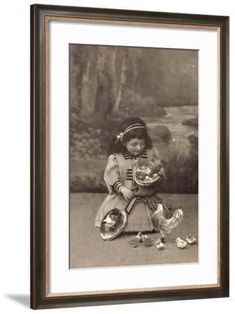 Easter Greetings Card--Framed Giclee Print