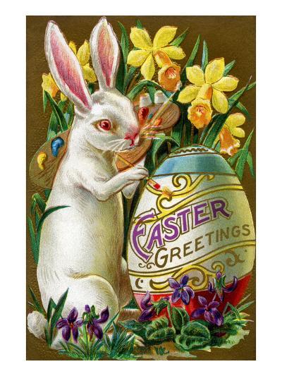 Easter Greetings--Art Print