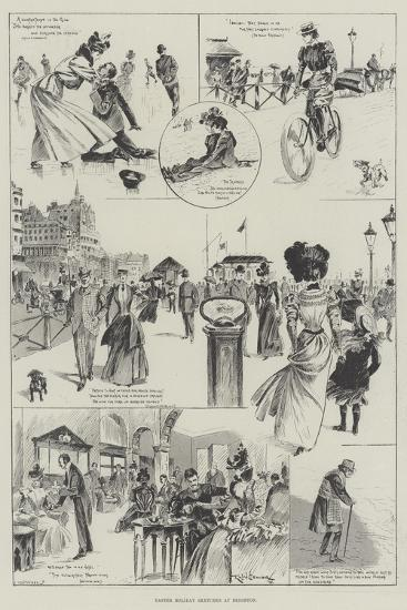 Easter Holiday Sketches at Brighton-Ralph Cleaver-Giclee Print