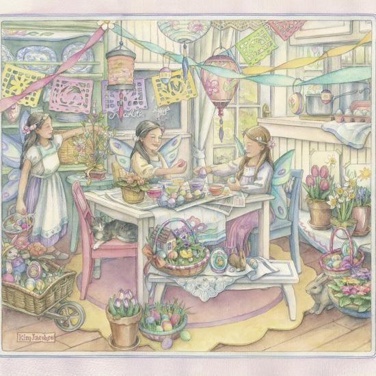 Easter Party-Kim Jacobs-Giclee Print