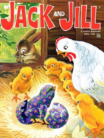 Easter Surprise - Jack and Jill, April 1968-Rae Owings-Giclee Print