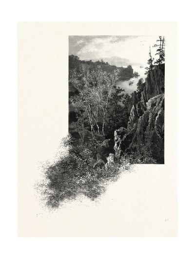 Eastern Ontario, Lake of the Isles, Thousand Islands, Canada, Nineteenth Century--Giclee Print