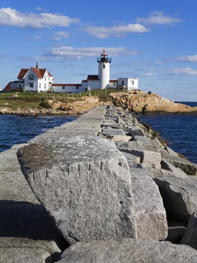 Eastern Point Lighthouse, Gloucester, Cape Ann, Massachusetts, New England, USA-Richard Cummins-Photographic Print