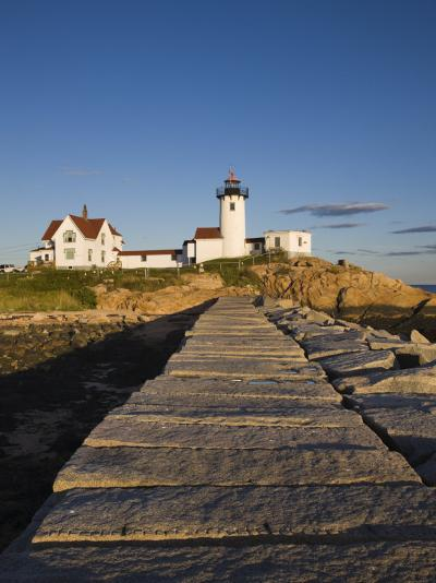 Eastern Point Lighthouse, Gloucester, Cape Ann, Massachusetts, USA-Walter Bibikow-Photographic Print