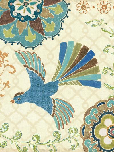 Eastern Tales Bird III-Daphne Brissonnet-Art Print
