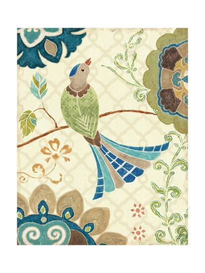 Eastern Tales Bird IV-Daphne Brissonnet-Art Print