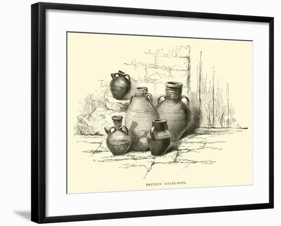 Eastern Water-Pots--Framed Giclee Print