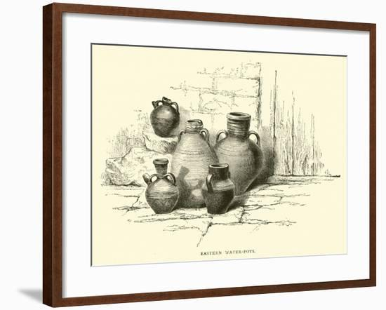 Eastern Water-Pots--Framed Giclee Print