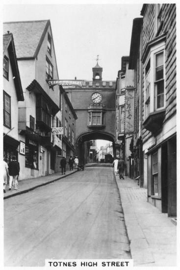 Eastgate, Totnes High Street, Devon, 1937--Giclee Print