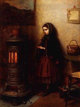 Warming Her Hands, 1862