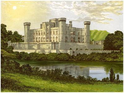 Eastnor Castle, Herefordshire, Home of Earl Somers, C1880-Benjamin Fawcett-Giclee Print