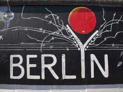Eastside Gallery (Berlin Wall), Muhlenstrasse, Berlin, Germany-Jon Arnold-Photographic Print