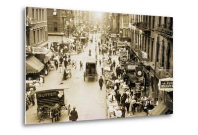 Eastward on Rivington and Orchard Streets, 1905