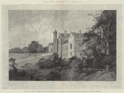 Eastwell Park, Formerly the Residence of the Duke of Edinburgh, Now the Property of Lord Gerard-Charles Auguste Loye-Giclee Print