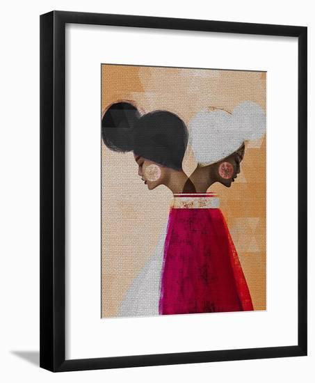 Easy Ease (Neutral)-Erin K. Robinson-Framed Art Print