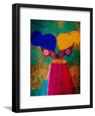 Easy Ease (Vibrant)-Erin K. Robinson-Framed Premium Giclee Print