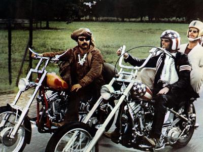 Easy Rider, Dennis Hopper, Peter Fonda, Jack Nicholson, 1969--Photo