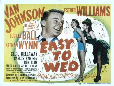 Easy to Wed, Van Johnson, Esther Williams, Lucille Ball, 1946--Photo