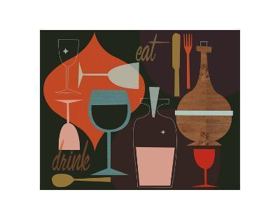 Eat & Drink-Jenn Ski-Art Print
