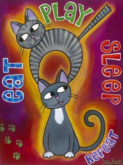 Eat Play Sleep-Carla Bank-Giclee Print