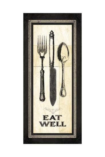 Eat Well-Jo Moulton-Art Print