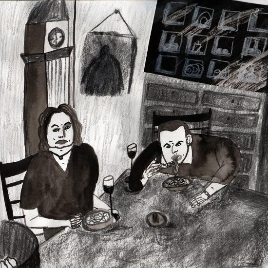 eating--Giclee Print
