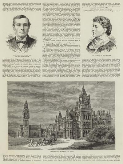 Eaton Hall--Giclee Print