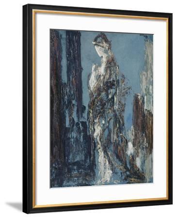 Ebauche (Hélène)-Gustave Moreau-Framed Giclee Print