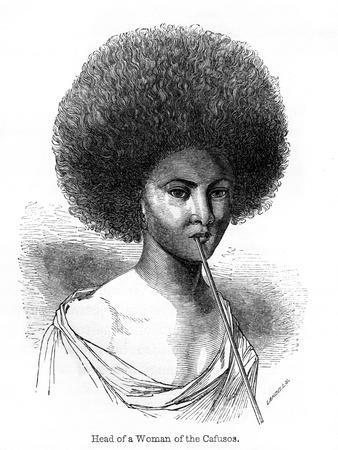 Head of a Woman of the Cafusos, 1848