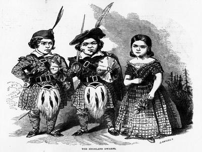 The Highland Dwarfs, Published in 'The Illustrated London News', May 30 1846