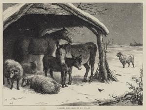 A Christmas Party by Ebenezer Newman Downard