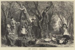 An Apple Orchard by Ebenezer Newman Downard