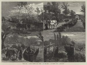 Canal Life by Ebenezer Newman Downard