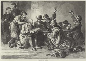 Discussing the Budget by Ebenezer Newman Downard