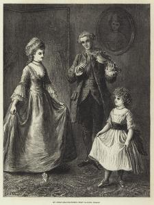 My Great-Grandmother's First Dancing Lesson by Ebenezer Newman Downard